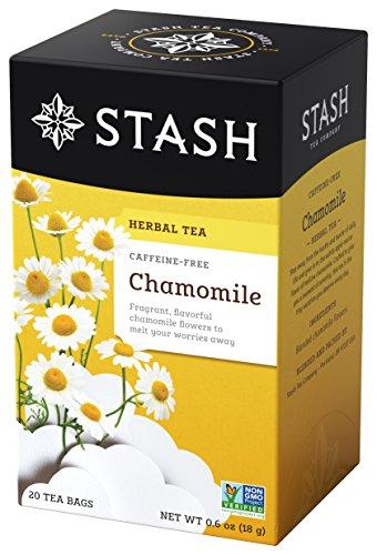 Tea Herbal Pantry (Stash Tea Chamomile Herbal Tea, 20 Tea Bags Per Box, Premium Herbal Tisane, Sweet Soothing Herbal Tea, Enjoy Hot or Iced)