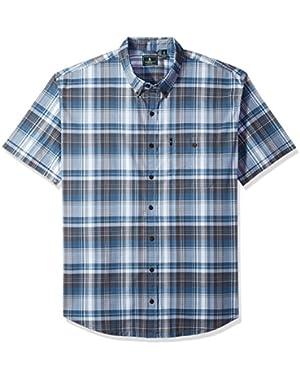 Men's Big and Tall Trail Flex Short Sleeve Shirt