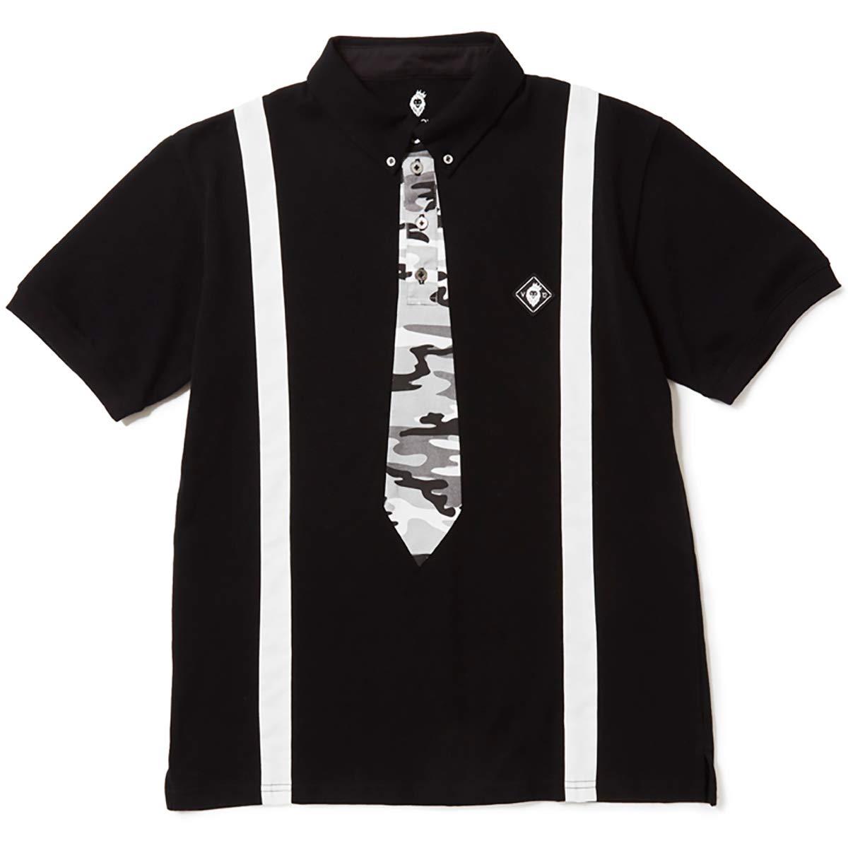 高質で安価 ヴィトゥエルヴ V12 半袖シャツポロシャツ FAKE TIE TIE 半袖ポロシャツ L B07PR1WG7F ブラック FAKE B07PR1WG7F, ハンドメイドのお店preser:e61cccc0 --- ballyshannonshow.com