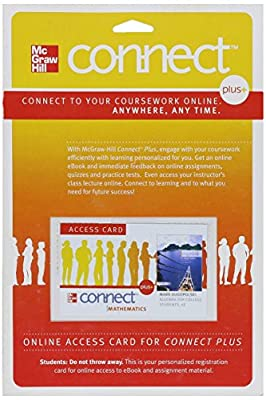 Connect Access Card for Algebra for College Students