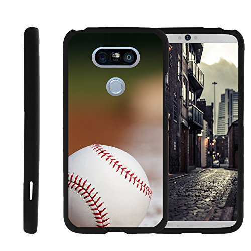 Price comparison product image LG G5 Phone Cover,  Stylish Personalized Protective Snap On Hard Case Phone Protector G5 case by Miniturtle® - Baseball Blur
