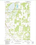 YellowMaps Twistal Swamp MN topo map, 1:24000 Scale, 7.5 X 7.5 Minute, Historical, 1982, Updated 1982, 27.23 x 21.53 in