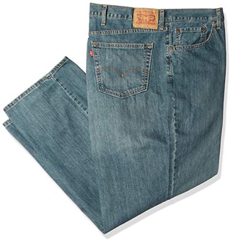 Levi's Men's Big and Tall Big & Tall 559 Relaxed Straight Jeans, Sub Zero, 38W X 36L 550 Relaxed Fit Tapered Leg