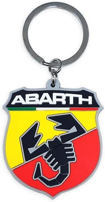 Abarth 21754 Key Chain, Multicolor, Universal