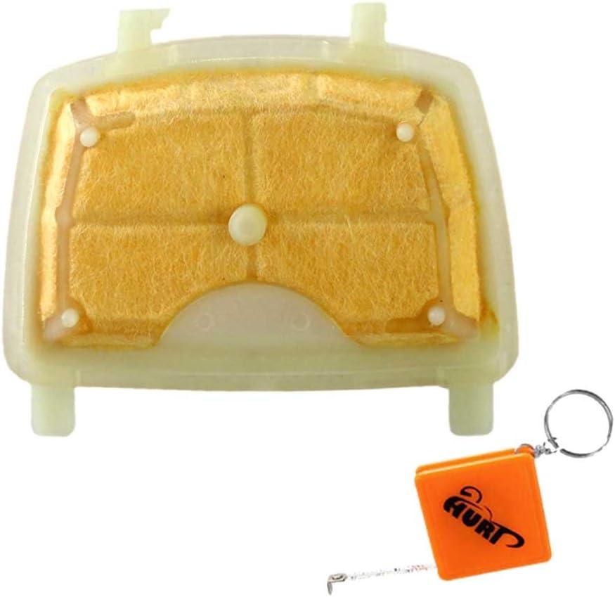HURI Filtre /à Air pour Stihl MS171 MS181 MS211 Tron/çonneuse Remplacer 1139 120 1602
