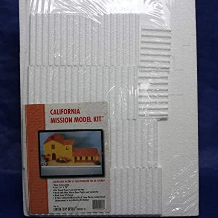 California Mission Model Kit San Fernando Rey De Espana