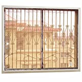 YHviking Window screening,Velcro curtain,With durable fiberglass mesh,Encryption magnetic screen door Mosquito door screen Sun protection For Sliding doors Balcony Bedroom-C 120x100cm(47x39inch)