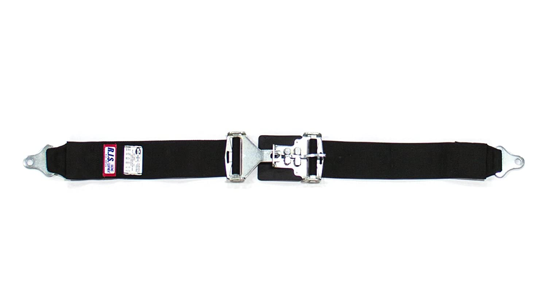 RJS Racing Equipment 15001901 Black Lap Belt