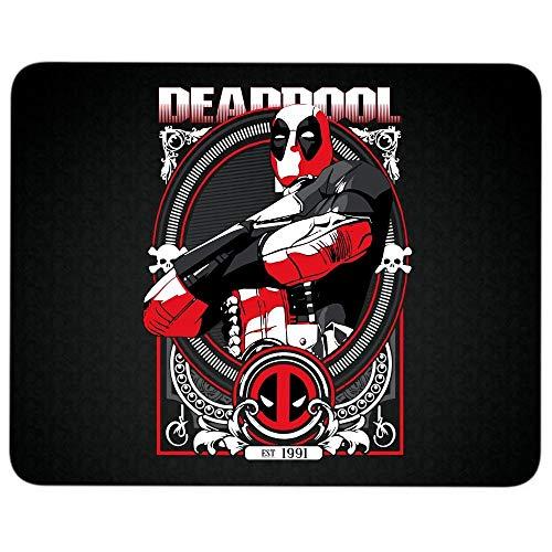 Deadpool EST 1991 Non-Slip Rubber Base Mousepad for Laptop, Computer & PC, Become Deadpool Superhero Mouse Pad(Mouse Pad - Black)