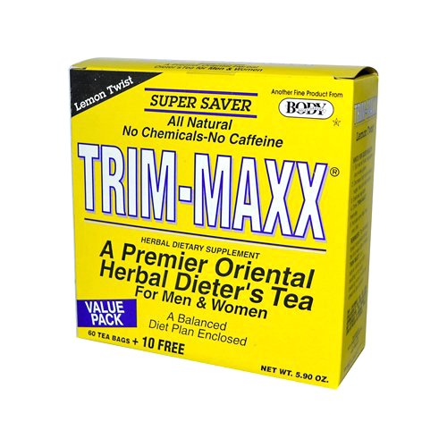 Body Breakthrough Diet Trim-Maxx Tea Lemon, 70 Count