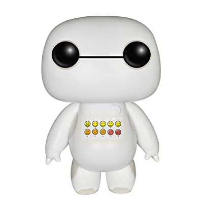 Funko POP Disney: Big Hero 6 -Emoticon Chested Baymax -2015 SDCC Exclusive Action Figure: Toys & Games [5Bkhe1001085]