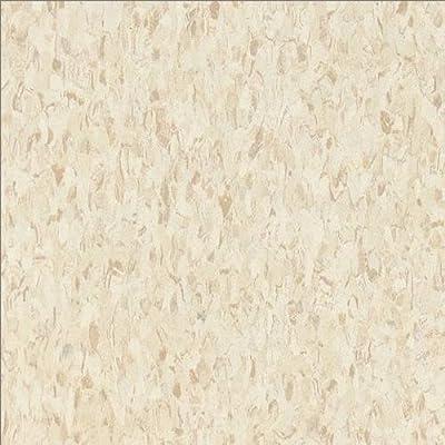 """Armstrong World Industries 51858 Excelon Floor Tile (45 per Case), 12"""" x 12"""", Sandrift White"""