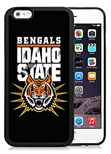 Hot Sale iPhone 6 Cover Case Big Sky Conference Football Idaho State Bengals 1 Protective Cell Phone Hardshell Cover Case For iPhone 6 4.7 Inch TPU Black Unique And Durable Designed Phone Case