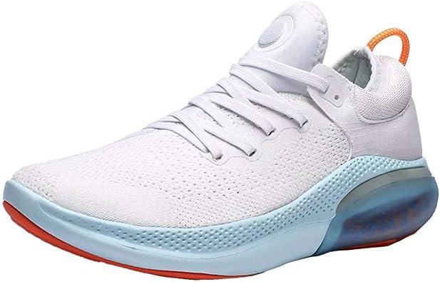Zapatos De Running Hombre Malla Tejida con Mosca Sneakers ...