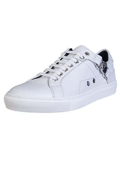 Versace Collection, Baskets pour Homme Blanc    Amazon.fr ... 1bcea07b5f7