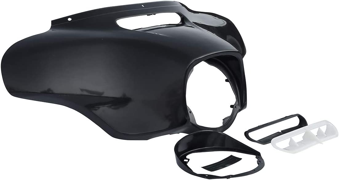 SLMOTO ABS Front Outer Batwing Fairing Fit For Harley Ultra Limited Tri Glide 2014-2020