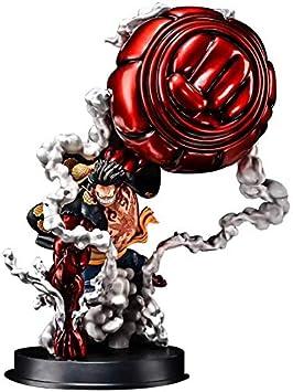 STKCST Anime Doll One Piece Monkey D Ruffy und Shanks Figur Hochwertige Version Skulptur Dekoration Statue Puppe Modell Spielzeug Figur H/öhe 18cm