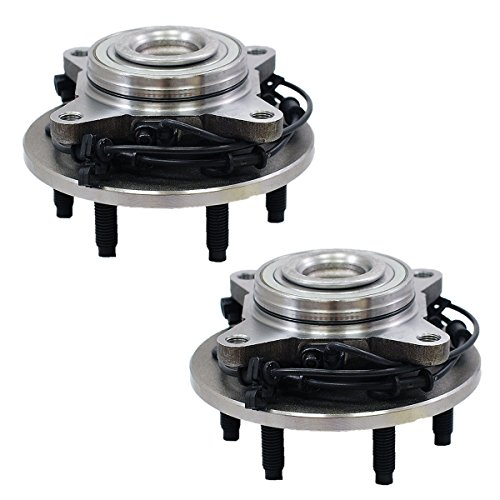 LG515042 x 2 (Set Of 2) Brand New Wheel Bearing Hub Assembly Front Left And Right Side (6 Lug 2WD) Fit 03-06 FORD EXPEDITION, 03-06 LINCOLN NAVIGATOR