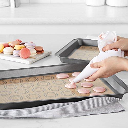 AmazonBasics Silicone Macaron Baking Mat - 2-Pack by AmazonBasics (Image #1)