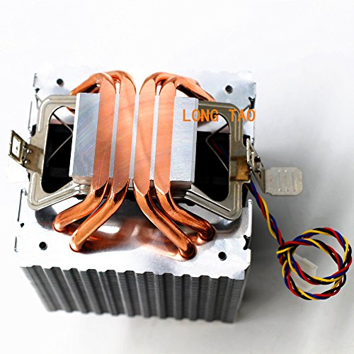 LONG TAO Dual Tower Heat-Sink CPU Cooler with 4 Direct Contact Heatpipes by LONG TAO (Image #2)