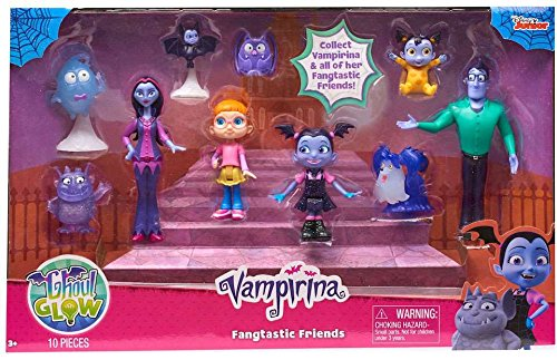 Vampirina Just Play Fangtastic Friends Set Toy Activity Roleplay
