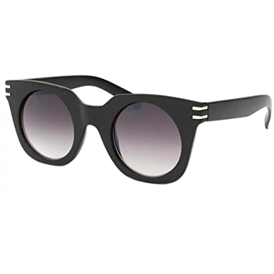 fc84cf4601f930 Lunettes de soleil Femme Ronde Noir Mat Meslay - Femme  Amazon.fr  Vêtements  et accessoires