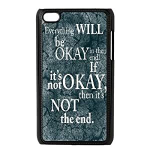John Green Book Okay The Fault in Our Stars Phone Case Fit for iPod Touch 4 Case ATR017311