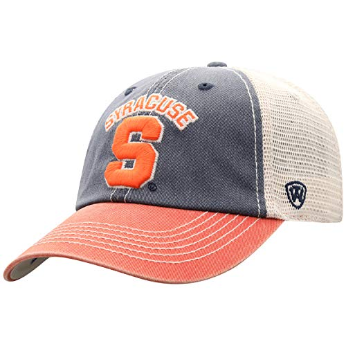 Top of the World Syracuse Orange Men's Mesh-Back Hat Icon, Navy, Adjustable