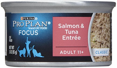 Pro Plan Canned Cat Food, Senior Ground Salmon and Tuna Entr