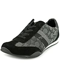 Coach Kelson Signature C Fashion Sneakers - Black Smoke/Black