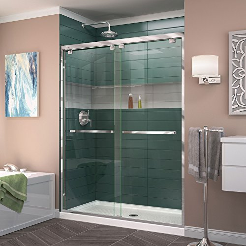Frameless Bypass Shower Doors - 5