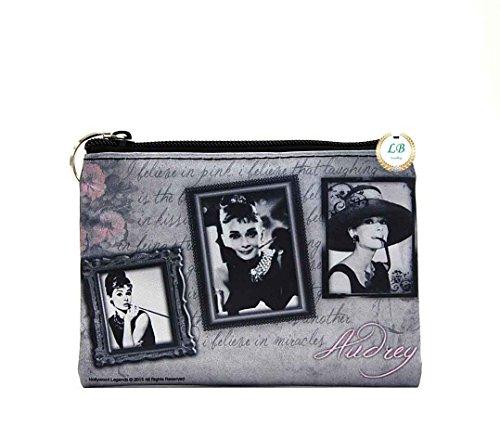 Audrey Hepburn Small Makeup Bag (Frames)