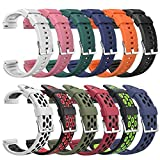SGGFA Silicone Watchbands Breathable Multihole