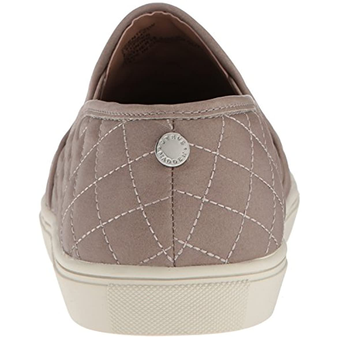 Steve Madden Women's Ecentrcq Sneaker Grey 6 5 Wide
