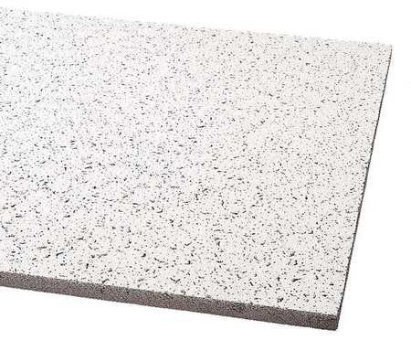 Acoustical Ceiling Tile 24''X24'' Thickness 5/8'', PK16 by Armstrong