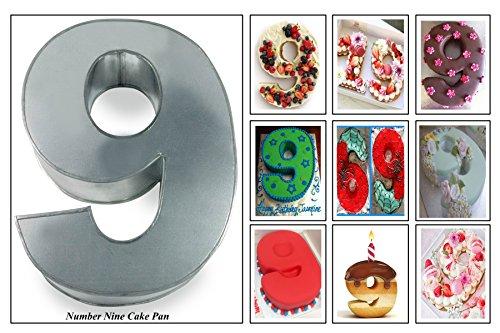 Small Number Two 2 Wedding Birthday Anniversary Cake Baking Pan Tin 10 X 8