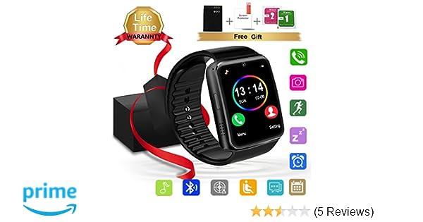Amazon.com: Smart Watch - Kindak (Casual - Black): Cell ...