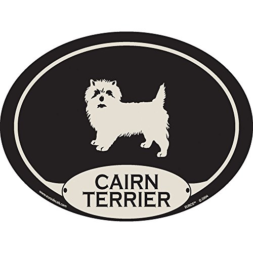 European Style Cairn Terrier Auto Decal