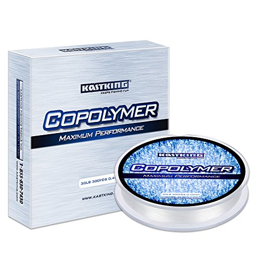 KastKing Copolymer Fishing Line for Saltwater Fishing, Freshwater Fishing, Bass Fishing and Trout Fishing, Strong and Ultra Invisible