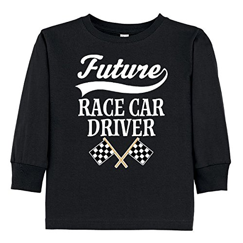 inktastic Future Race Car Driver Racing Toddler Long Sleeve T-Shirt 2T (Infant Boys Long Sleeve Race)