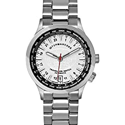Sturmanskie Traveller 24-Hour Military Time Automatic Men's Russian Watch Silver-White Dial 2431/2255286