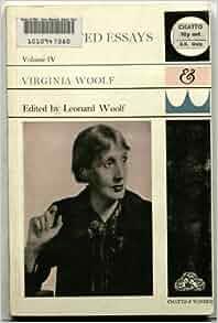 Essays woolf v
