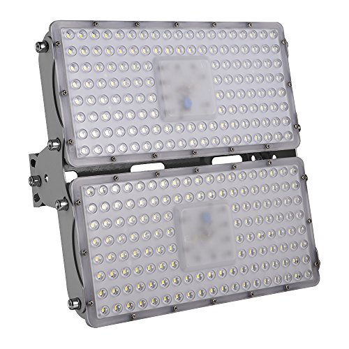 (Festnight 200W LED Flood Light Waterproof Outdoor 7 Generation Super Bright Security Lights Daylight Cool White Floodlight Landscape Wall Lights 110V)