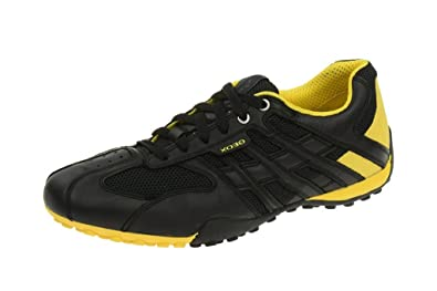 Geox 01443 Sneaker Gelb Snake Herren C9241 Schwarz U4207k Yfby76g