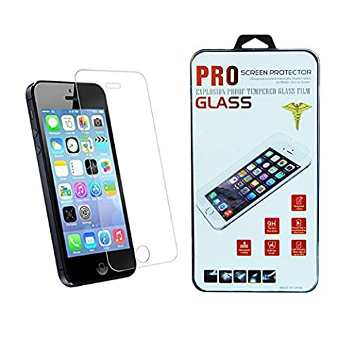 iPhone 5/5S/SE Screen Protector, Glass Invisible Shield 2 x Retail Packaging (Iphone 5s Cute Case Otterbox)