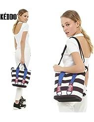 KEDDO Summer Travel Beach Terylene/Cotton Backpack-Handbag For Women. Shopping/Diaper/Yoga Bag, Towels, Swim Rucksack-Bag