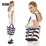 KEDDO Summer Travel Beach Terylene/Cotton Backpack-Handbag For Women. Shopping/Diaper/Yoga Bag, Towels, Swim Rucksack-Bag