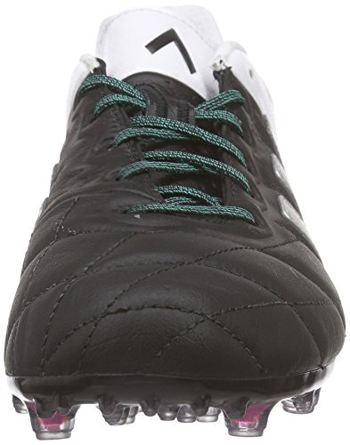 adidas Ace 15.1 FG/AG Leather, Scarpe da Calcio Uomo / Argento Nero / Bianco (Negbas / Plamat / Ftwbla)
