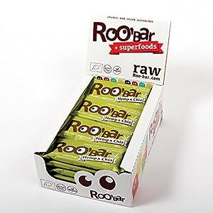 ROO'BAR Hemp Protein & Chia – 20 b...