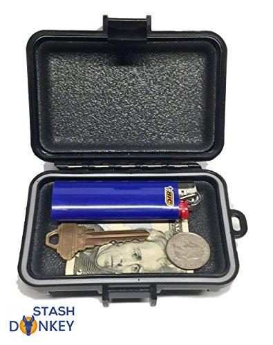 'Lil Donkey' Waterproof Magnetic Stash Box - Car Safe - Key Box - GPS Case